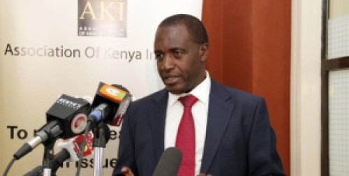 Association of Kenya Insurers chief executive Tom Gichuhi. Photo courtesy of www.businessdailyafrica.com