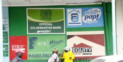 An agency banking outlet in Nakuru. Photo courtesy of www.businessdailyafrica.com