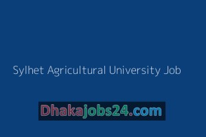 Sylhet Agricultural University Job 2019.