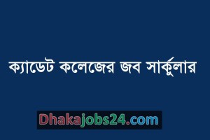 Cadet College Job Circular 2019