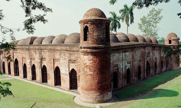 Sixty-Dome-Mosque