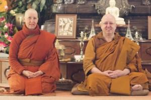 Ayya Santacari with Ajahn Brahm
