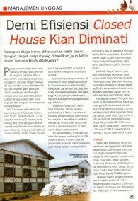 Demi Efisiensi Closed House Kian Diminati - Page 1