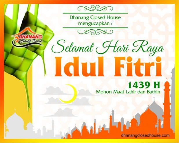 Selamat Idul Fitri 1439 H