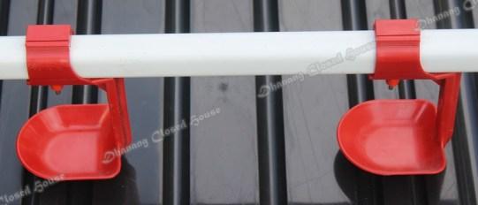 Nipple Drinker & Drip Cup Merah Import - Dhanang Closed House