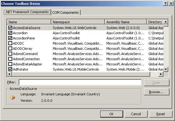 How to add custom control in Visual Studio Toolbox. (2/5)