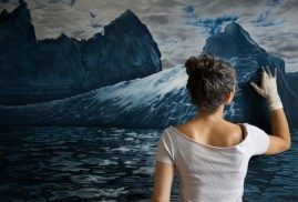 Cool Finger Painting by Zaria Forman 1