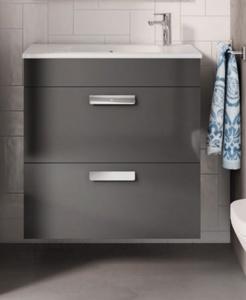 meuble salle de bain unik debba compact 2 tiroirs roca