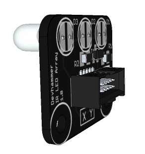 IR LED Array - LEDs on bottom