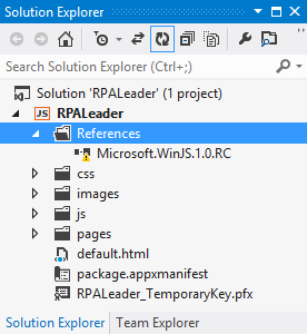 Updating a Windows 8 JavaScript app from RC to RTM - Low Code Life