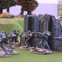 Warzone Resurrection: Bauhaus vs. Dark Legion