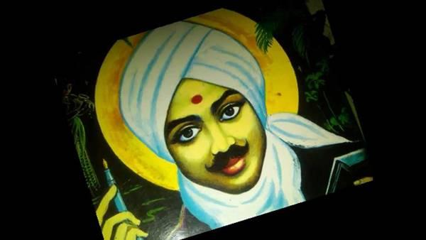 bharathiar மனிதனின் அவதி போக்கி அதிகாரமளிக்க பாரதி கொண்ட பார்வை: தமிழில் டிவிட்டிய மோடி!