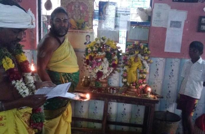 விசாக நட்சத்திரக் கோயிலில் ஆருத்ரா தரிசன விழா