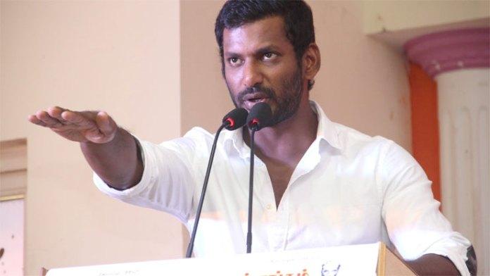 50 வருட திரைஉலக வாழ்கையை புரட்டி போட்ட விஷால்