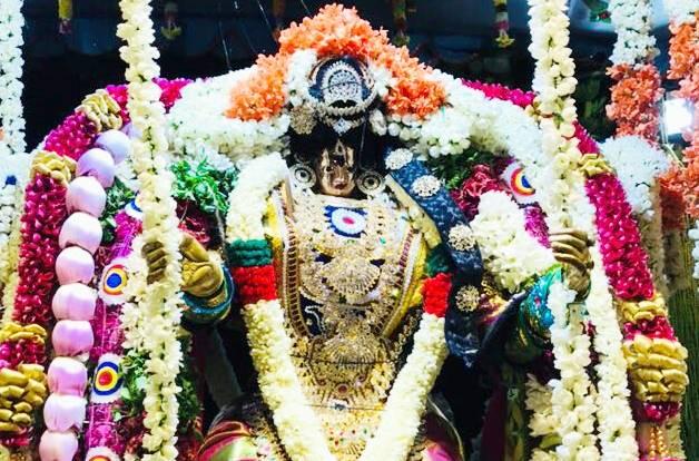 சோழவந்தான் ஜெனகை மாரியம்மன் கோயிலில் தீர்த்தவாரியுடன் உத்ஸவம் நிறைவு