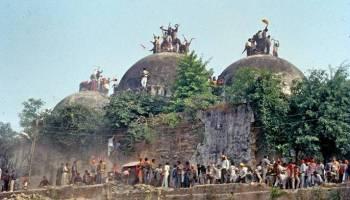 ayodhya disputed building demolished