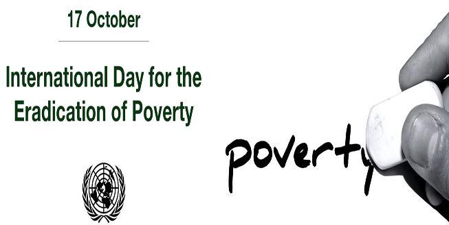 அக்டோபர் 17: உலக வறுமை ஒழிப்பு நாள்