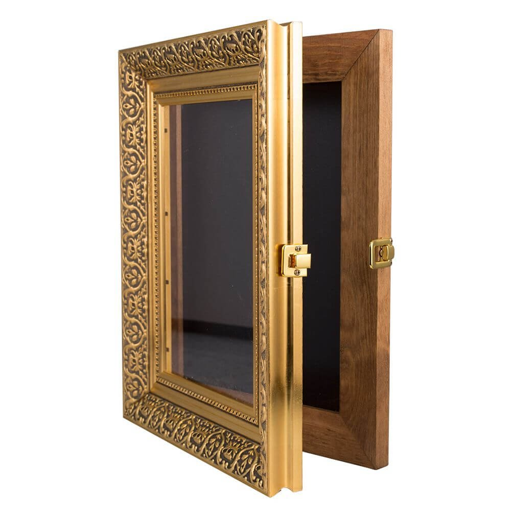a3 decorative gold poster frame