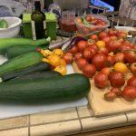 Massive Garden Produce Harvest for the Day