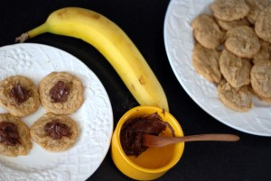cookies and banana