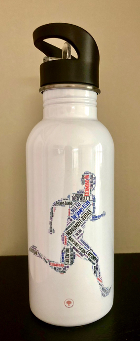 Richmond Running Man Water Bottle