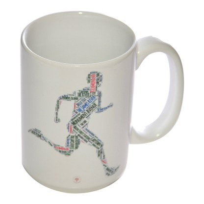 Richmond Running Man Mug