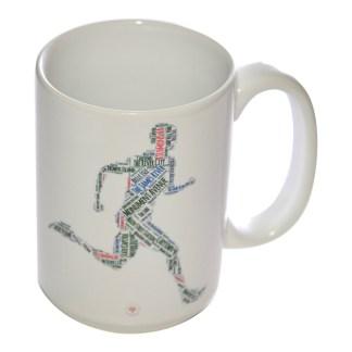 Richmond Running Man Mug