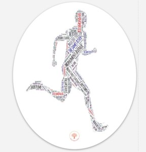 Richmond Runner Male Car Sticker