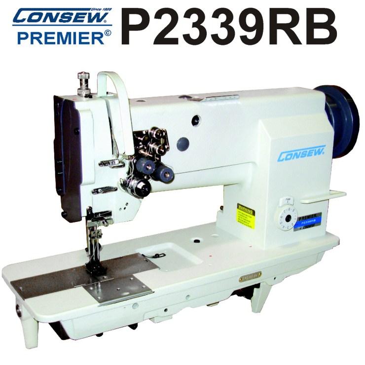 Consew P2339 RB-18 Two Needle, Lockstitch Machine, Drop Feed, Walking Foot