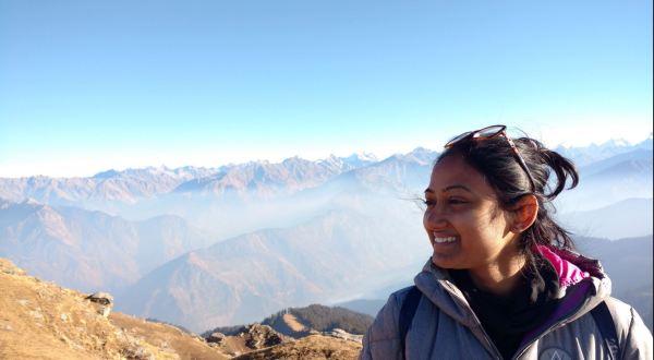 At KedarKantha Peak_Chanchal