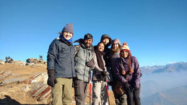 At KedarKantha Peak_Group