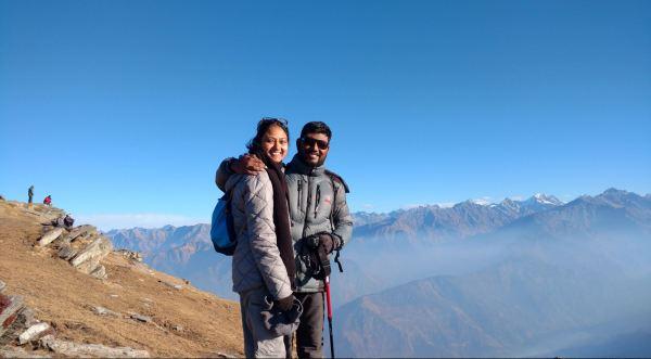 Kedarkantha Peak_Chanchal and Bala