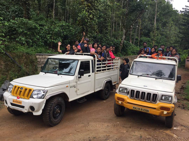 Chikmagalur Trek_Pick up Trucks