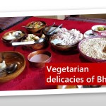 Vegetarian food in Bhutan