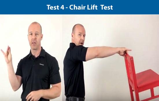 chair lift test
