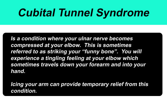 cubital tunnel syndrome pain