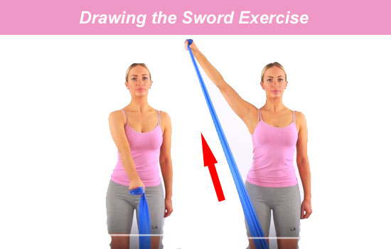 Drawing Arm Lifts : Top most effective exercises for tennis elbow of all