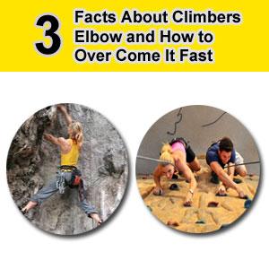 elbow pain rock climbing