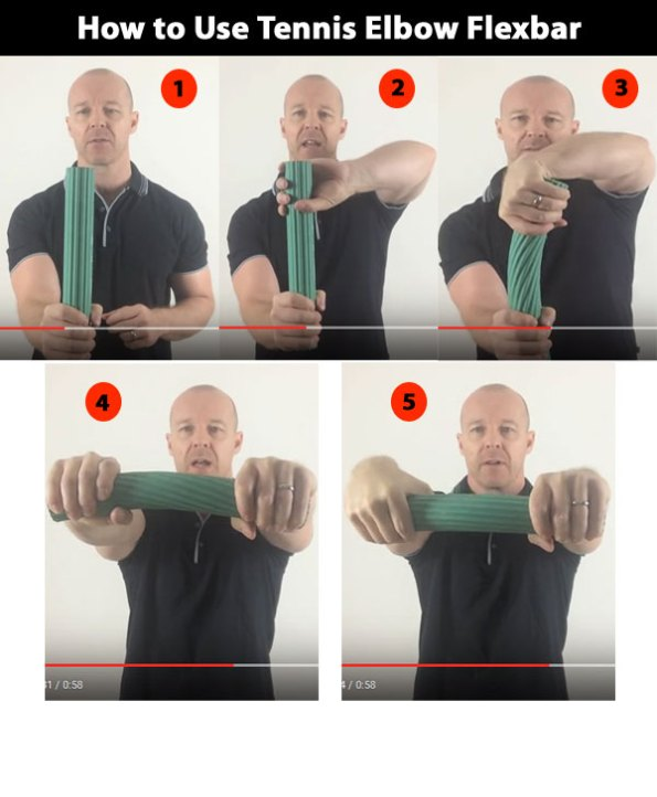 flexbar for tennis elbow instructions