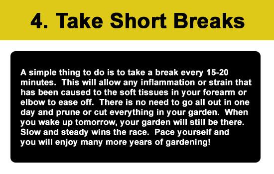 step 4 short breaks
