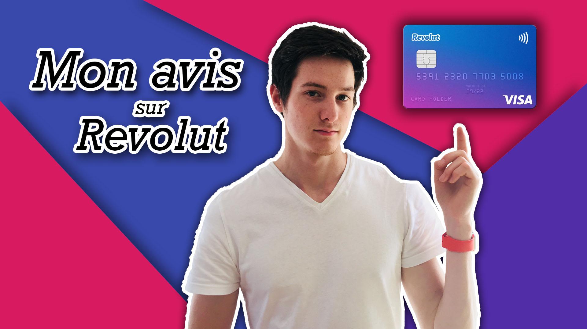 Carte Revolut: Mon avis<span class=