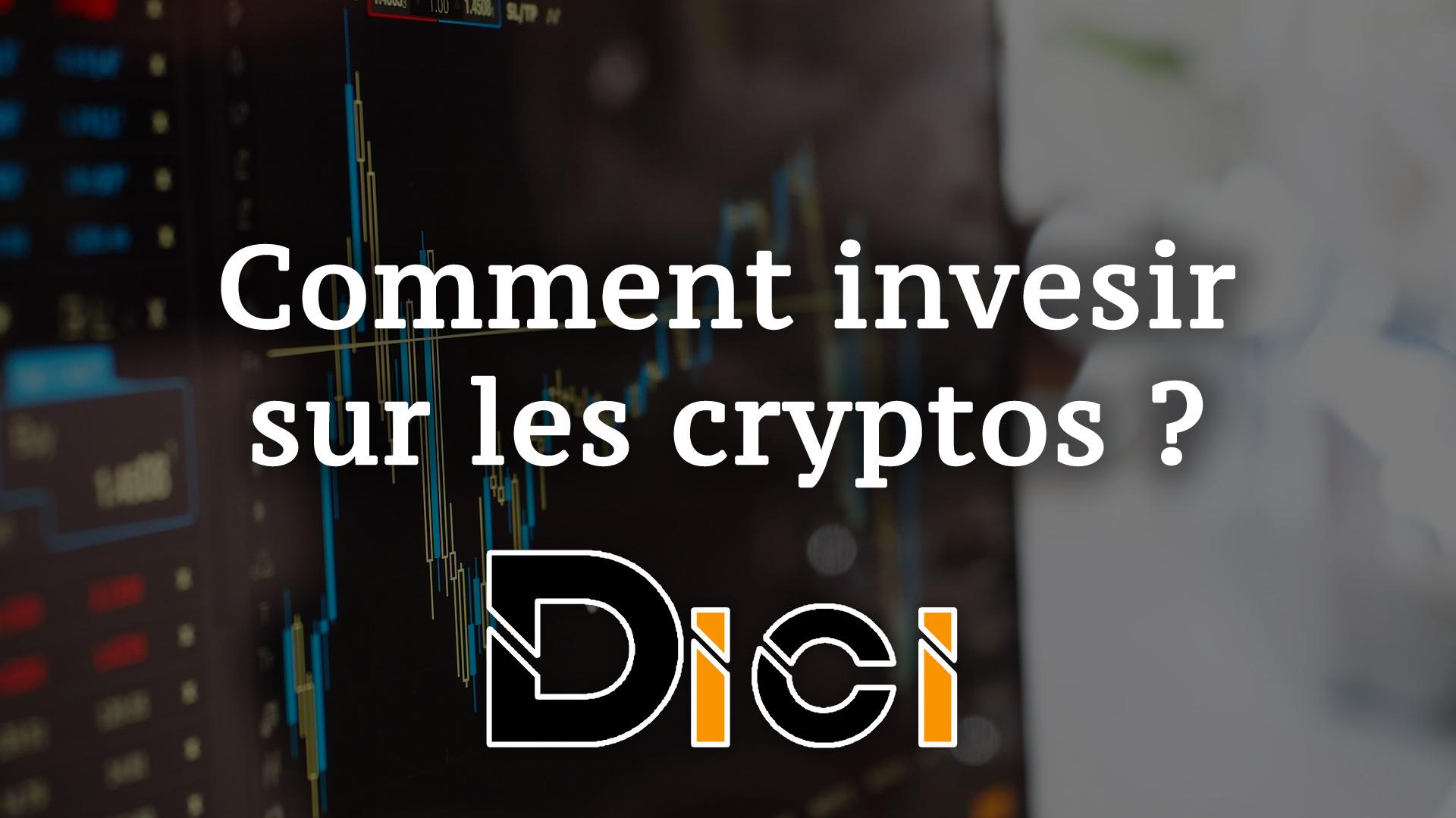 comment investir sur les crypto-monnaies ?<span class=