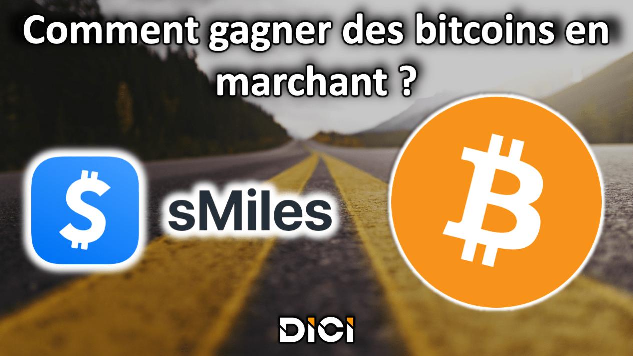 Gagner des bitcoins en marchant grâce à Smiles<span class=