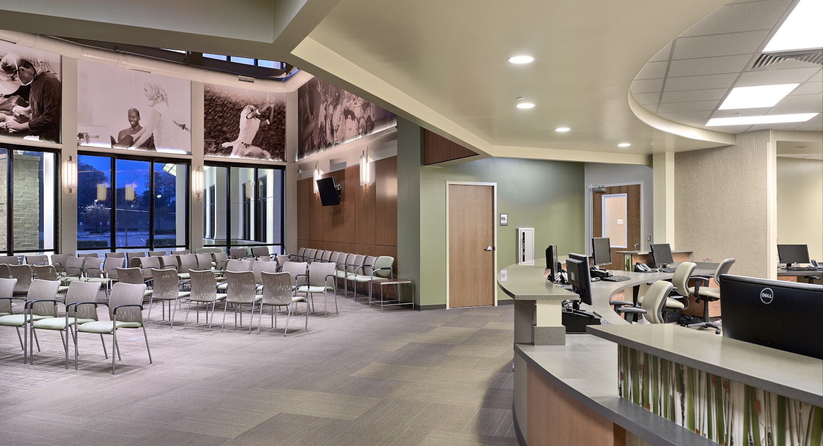 Birmingham Commercial Interior Design by Design Innovations Southern Orthopaedic Surgeons  Montgomery  Alabama