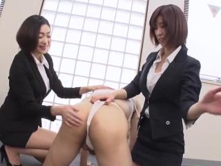 【無】エスカレートする女上司たち 江波りゅう 折原ほのか 1