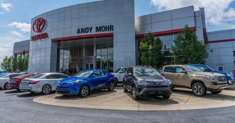 Toyota Dealer In Zionsville In Andy Mohr Toyota