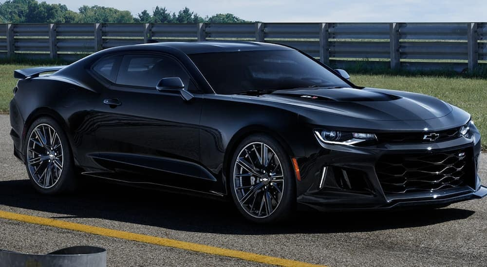 2021 chevy camaro offers supercar