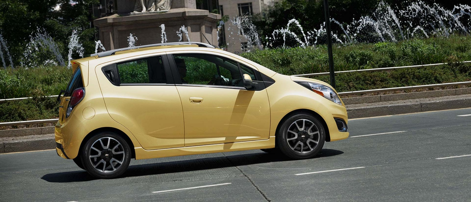 Chevy Spark Vs Smart Car