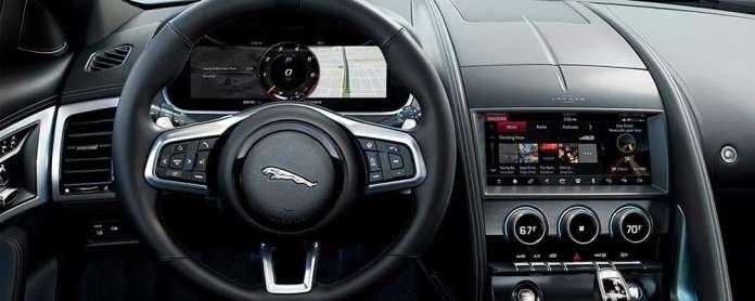 2021 Jaguar F Type Interior F Type Design Features And Dimensions