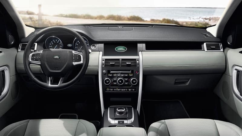 2019 Land Rover Discovery Sport dashboard